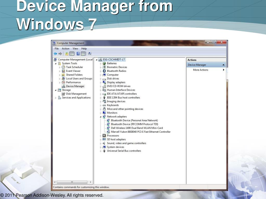 Device Manager from