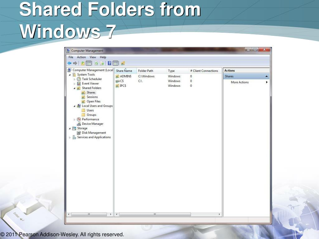 Shared Folders from