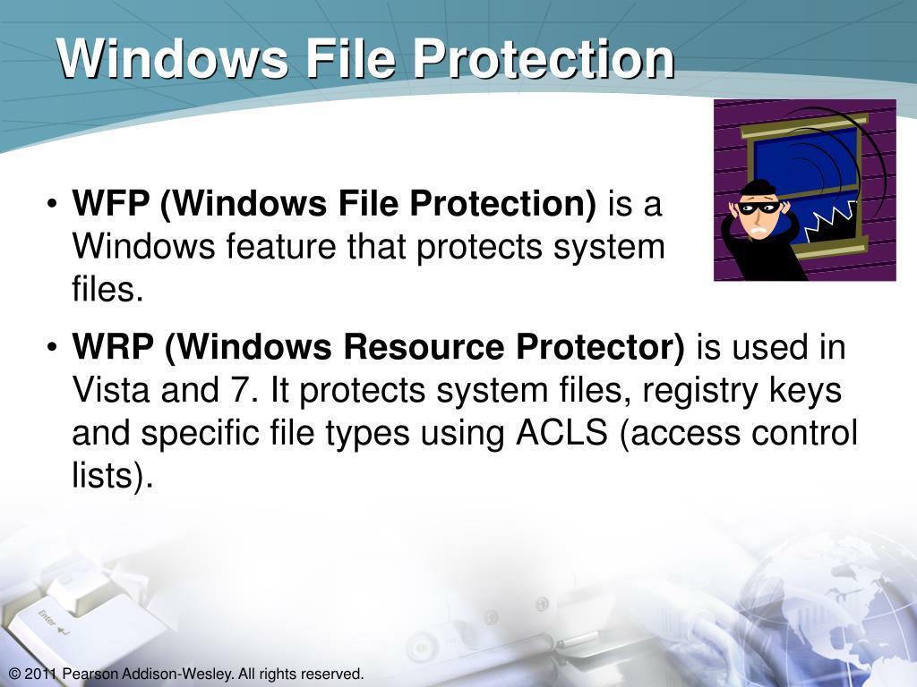 Windows File Protection