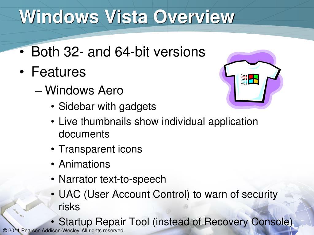 Windows Vista Overview