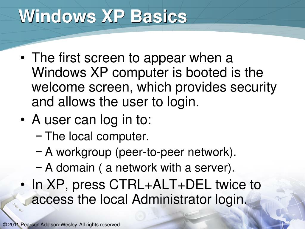 Windows XP Basics