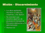 misi n discernimiento1