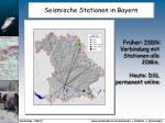 seismische stationen in bayern