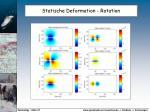 statische deformation rotation