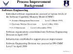 process improvement background
