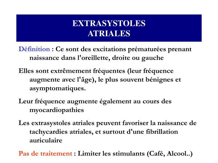 EXTRASYSTOLES