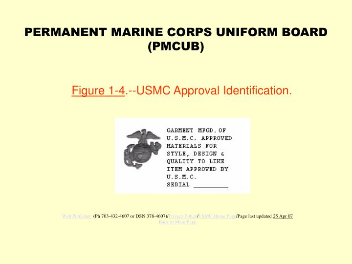 figure 1 4 usmc approval identification n.