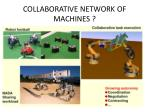 collaborative network of machines