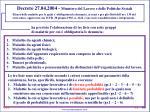 decreto 27 04 2004 ministero del lavoro e delle politiche sociali