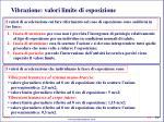 vibrazione valori limite di esposizione