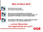 was ist burn out