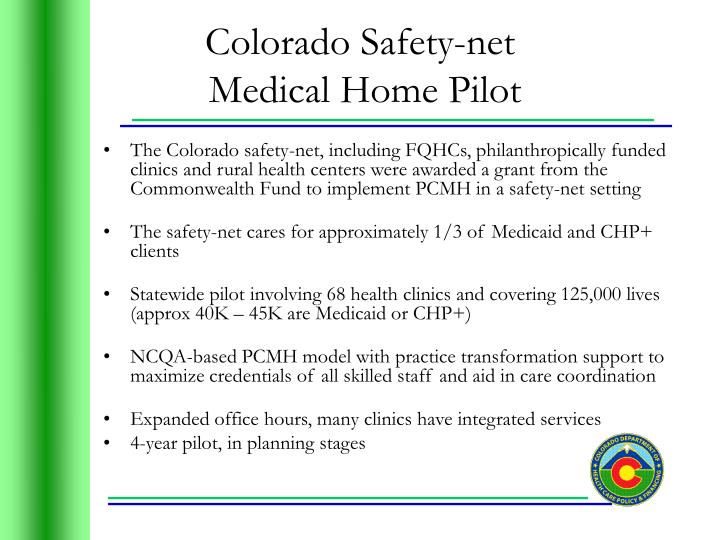 Colorado Safety-net