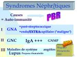 syndromes n phr i tiques