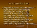 sas 1 section 320