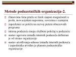 metode poduzetni kih organizacija 2