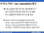ip inet makeaddr 3