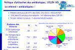 politique d utilisation des antibiotiques cclin so 20091