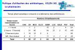 politique d utilisation des antibiotiques cclin so 20092