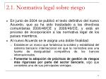 2 1 normativa legal sobre riesgo2