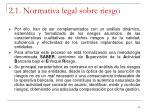 2 1 normativa legal sobre riesgo4
