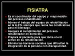 fisiatra