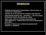 remision