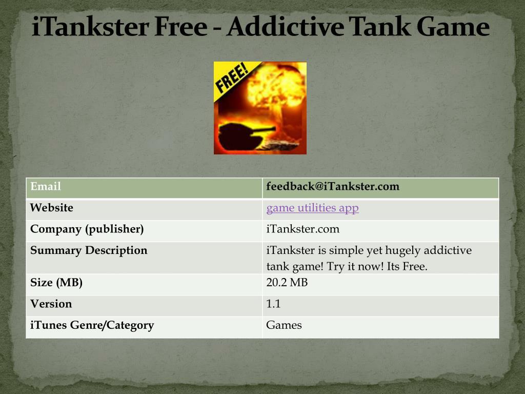 itankster free addictive tank game l.