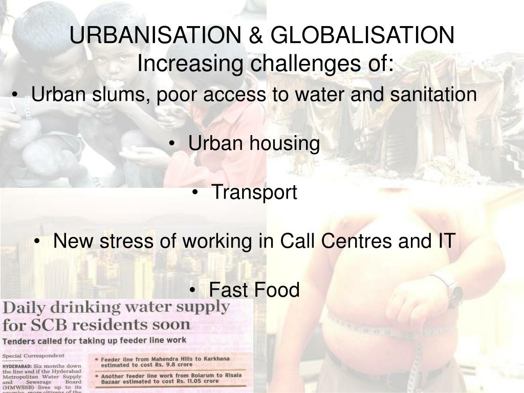 URBANISATION & GLOBALISATION