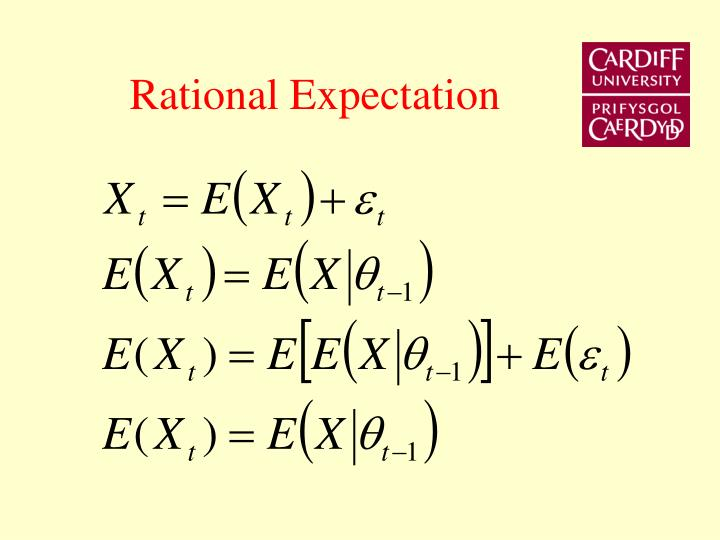 Rational Expectation