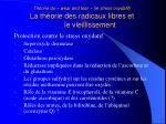 th orie du wear and tear le stress oxydatif la th orie des radicaux libres et le vieillissement4