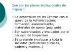qu son los planes institucionales de mejora ii