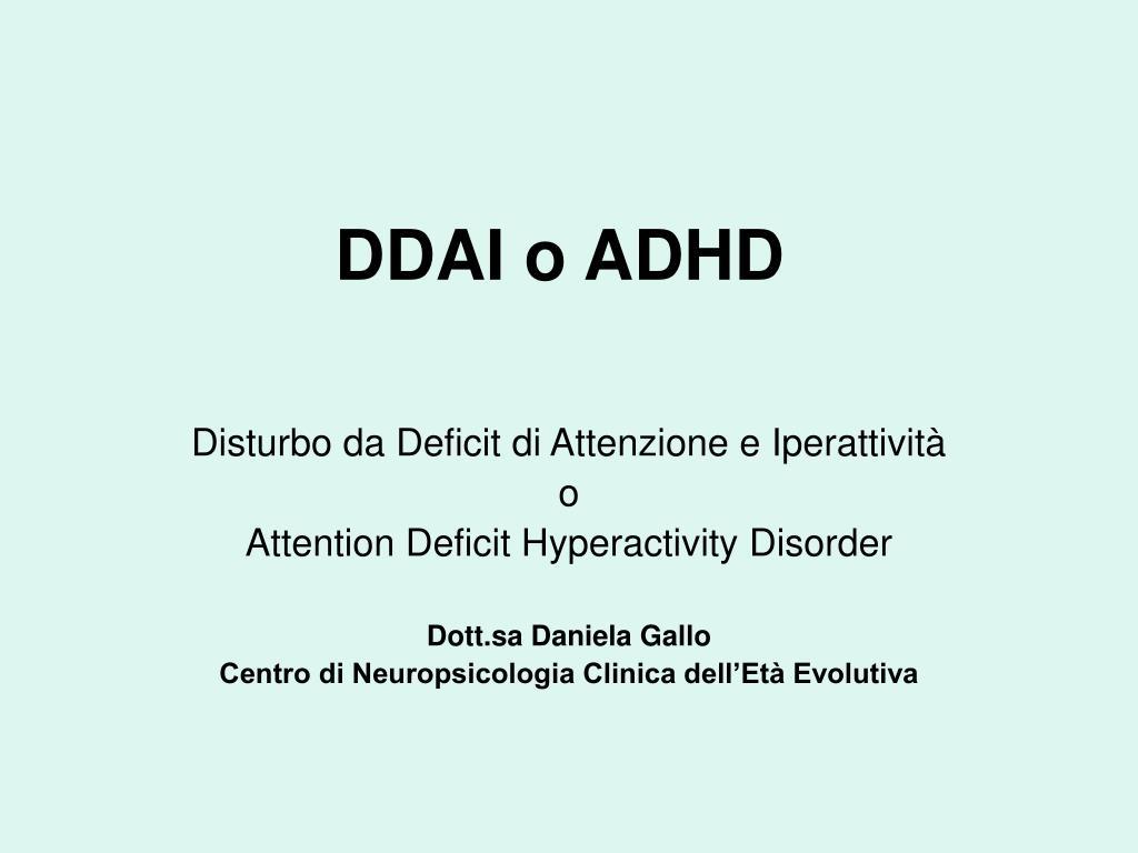 incontri con qualcuno con ADD/ADHD migliori siti di incontri online americani