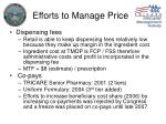 efforts to manage price3