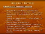 programas y proyectos1