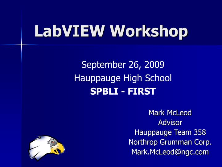 labview workshop n.