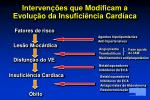 interven es que modificam a evolu o da insufici ncia card aca