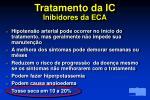 tratamento da ic inibidores da eca