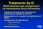 tratamento da ic medicamentos que antagonizam os mecanismos neuro hormonais