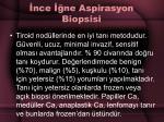 nce ne aspirasyon biopsisi
