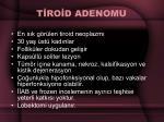 t ro d adenomu
