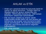 ahlak vs et k1