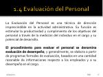 1 4 evaluaci n del personal1