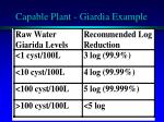capable plant giardia example
