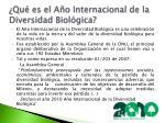 qu es el a o internacional de la diversidad biol gica
