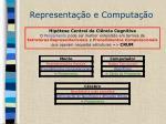 representa o e computa o1