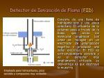 detector de ionizaci n de flama fid
