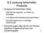 8 3 lenkung fehlerhafter produkte1