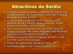 atractivos de saidia