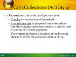 cash collections activity 42