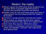 reskin the reality
